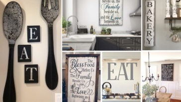 Διακοσμητικές Επιγραφές για την Κουζίνα και την Τραπεζαρία
