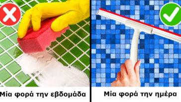 23 consejos útiles de limpieza para que su hogar brille en un tiempo mínimo.